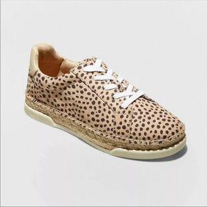 NEW Leopard Espadrille Sneakers Universal Thread